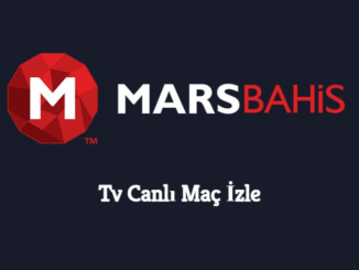 Marsbahis Tv Canlı Maç İzle
