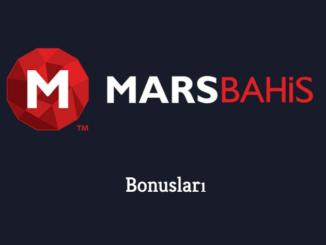 Marsbahis Bonusları